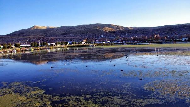 Plantas de tratamiento mitigarán la contaminación en el lago Titicaca.