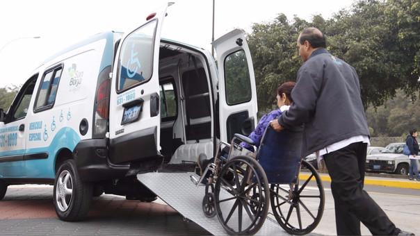 Servicio de taxi para personas con discapacidad ganó premio