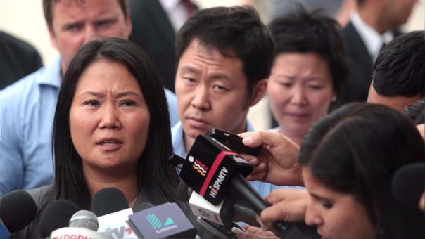 Keiko y Kenji Fujimori estuvieron en la Diroes y visitaron a su padre Alberto.