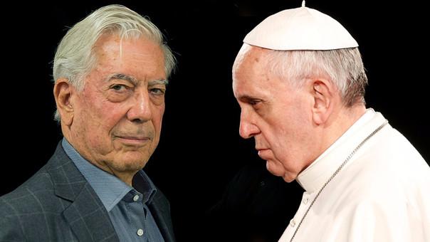 Vargas Llosa criticó al Papa en el encuentro