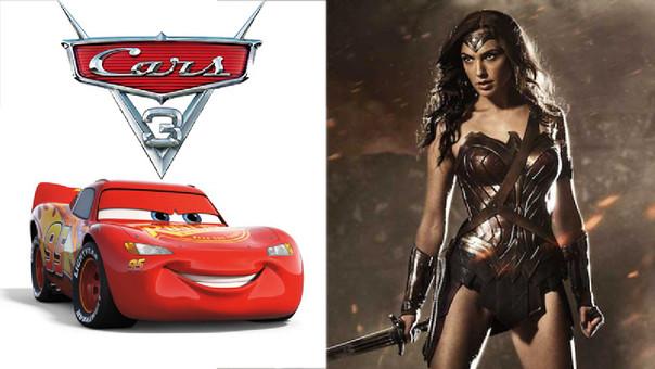 Cars 3 vs. Mujer Maravilla