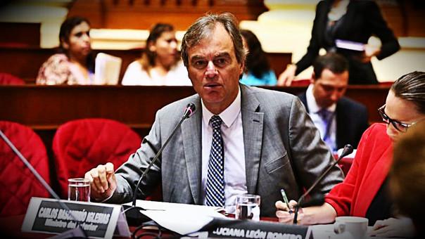 Interpelación continuará este jueves en el Congreso — Carlos Basombrío