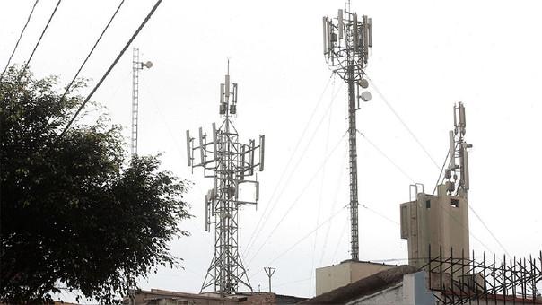 Osiptel: Hay un déficit de 17,585 estaciones de antenas celular en el país.