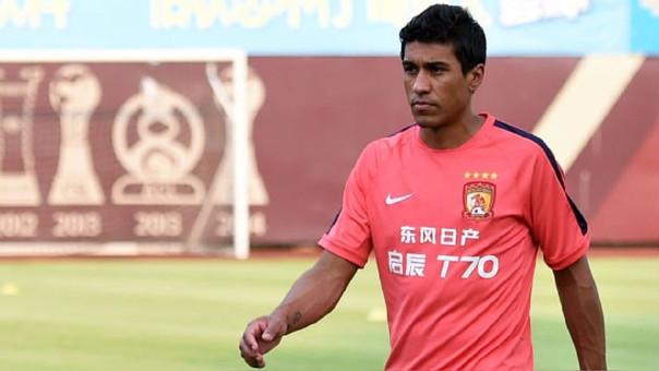 Paulinho anotó apenas 2 goles en su primera temporada con el Guangzhou Evergrande.