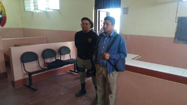 Trabajador del INPE detenido