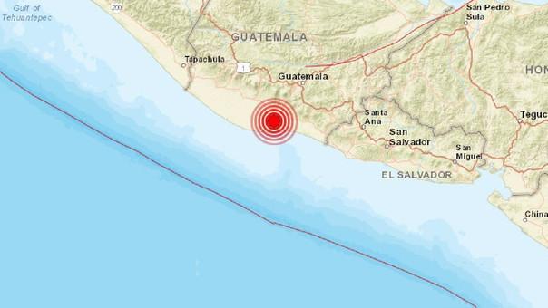 El temblor se sintió también en El Salvador.