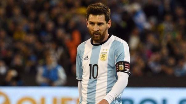 Lionel Messi anotó su primer gol con Argentina en el 2006 enfrentando a Croacia.