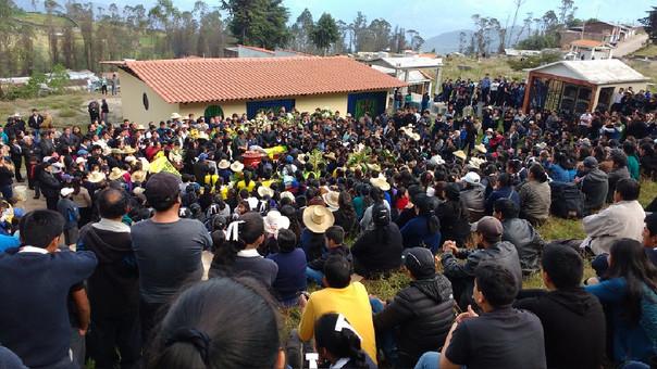 Los intervenidos aún permanecen en poder de las Rondas Campesinas de la provincia de San Pablo