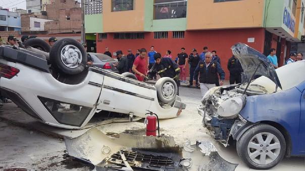 Accidente en San Miguel