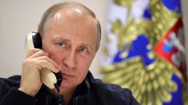 Vladímir Putin trabajó en el servicio de seguridad de la antigua Unión Soviética antes de ser el presidente de Rusia.