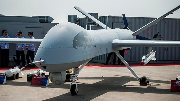 China, la segunda economía mundial, también ha construido drones de guerra.