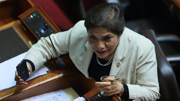 Luz Salgado es uno de los principales cuadros políticos del fujimorismo para este período.