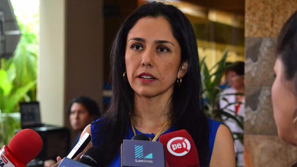 Nadine Heredia Alarcón fue miembro fundadora del Partido Nacionalista para las elecciones del 2006 y 2011.