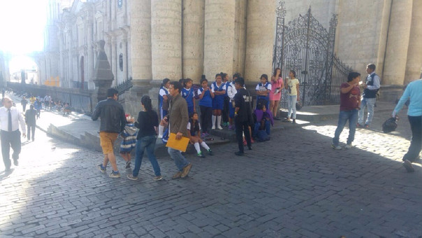 Alumnas plaza