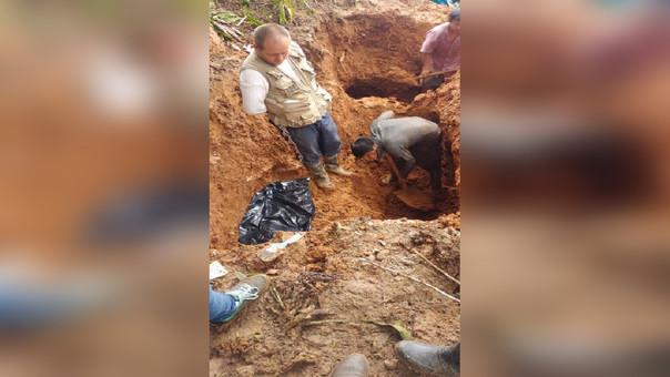 Hallazgo de restos humanos en Monzón.