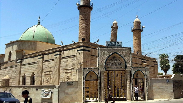 Fuerzas iraquíes capturan simbólica mezquita del grupo Estado Islámico