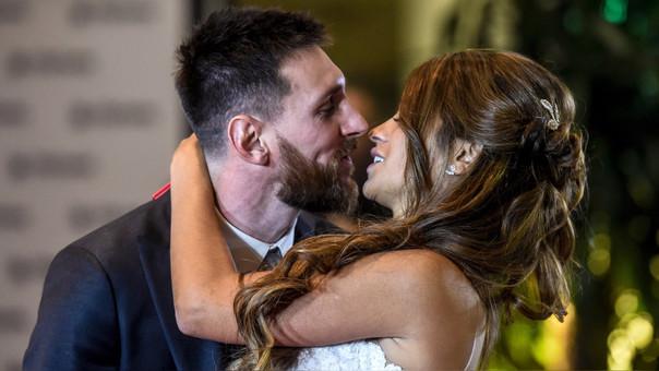 Lionel Messi y Antonela Roccuzzo tienen 2 hijos: Thiago y Mateo.
