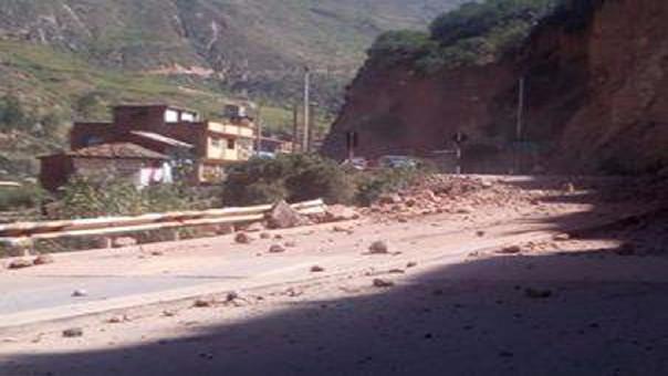Deslizamiento de cerro