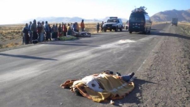 Accidente de tránsito en Lambayeque