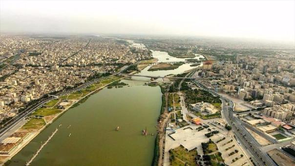 Vista de la ciudad de Ahvaz.