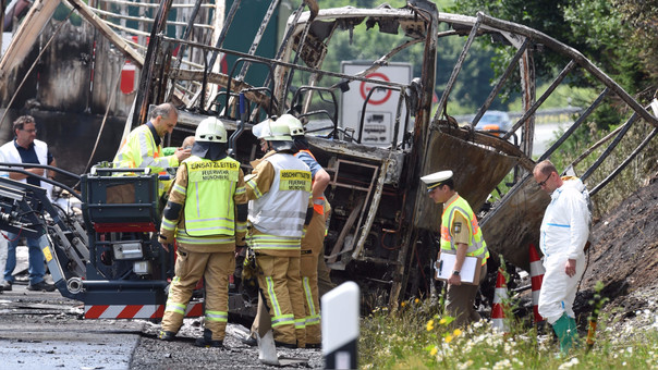 GERMANY-ACCIDENT-BUS