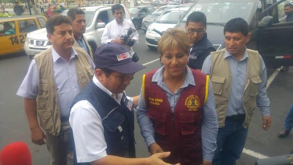Ministro de Vivienda se reunió con alcaldesa del Santa
