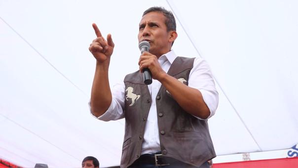 El expresidente Humala condenó la actitud de la Fiscalía.