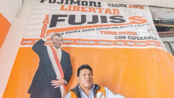 Óscar Ruíz Conde es el fundador del movimiento regional FUJISS. Ha renunciado a Fuerza Popular, pero no al fujimorismo.
