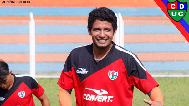 Reimond Manco llegó a Unión Comercio procedente del Zamora de Venezuela.