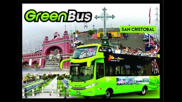 Green Bus cobraba diez nuevos soles por persona.