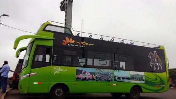 Una de las unidades del Green Bus