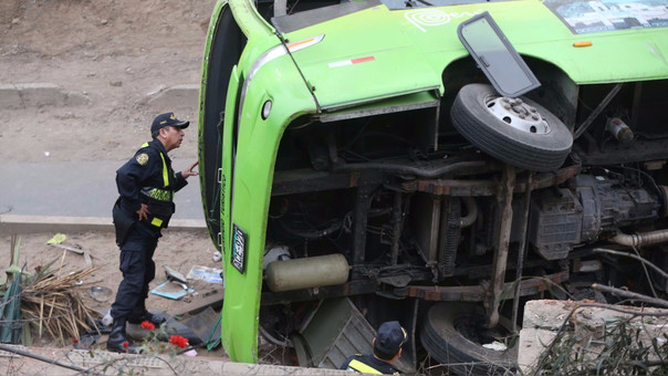 El accidente dejó nueve muertos y más de 30 heridos.