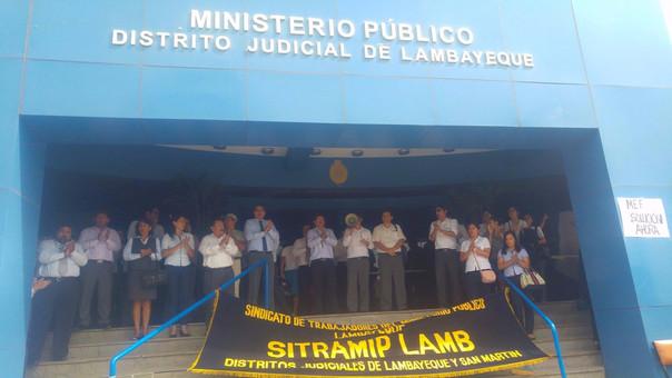 trabajadores Ministerio Público