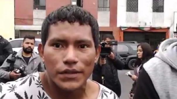 Jhonny Hidalgo Simarra, hermano de una de las víctimas.