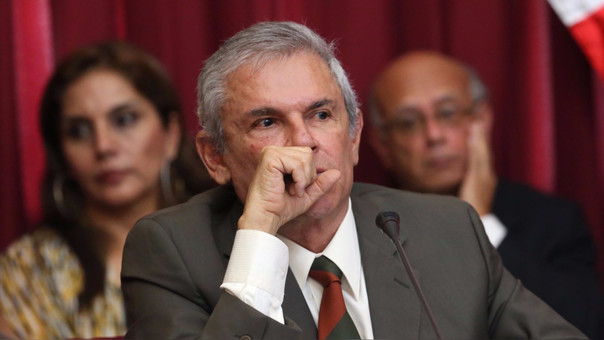 Luis Castañeda Lossio, alcalde de Lima.