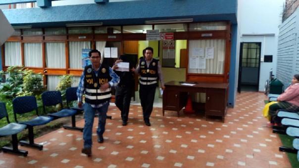 Detenido en Arequipa