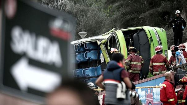 Aún permanecen hospitalizadas 34 personas heridas — Cerro San Cristóbal