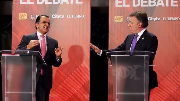 Óscar Zuluaga y Juan Manuel Santos, que iba por la reelección, se disputaron la presidencia de Colombia en el 2014.