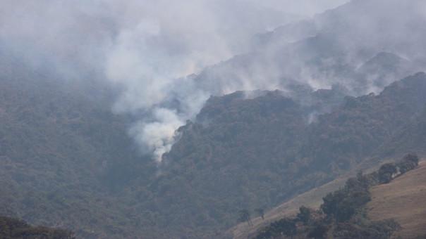 Incendios forestales en Cachiaco-San Pablo.