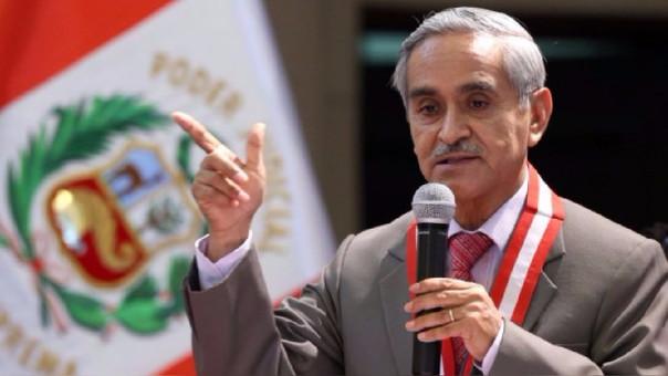 Duberlí Rodríguez, presidente del Poder Judicial