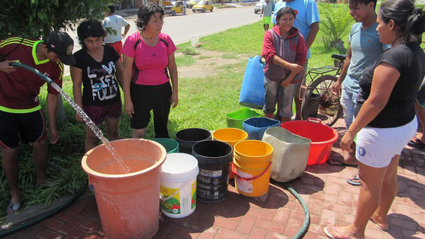 Habrá restricción del servicio de agua potable en Nuevo Chimbote