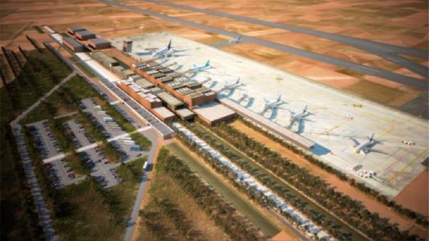 Las obras de construcción del aeropuerto no iniciarán hasta que no se termine de cerrar la resolución del contrato.
