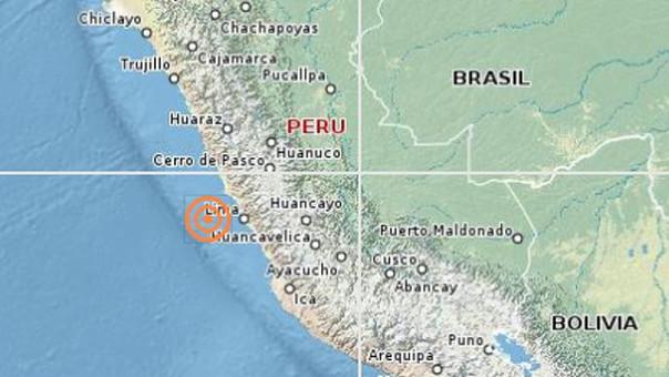 Registrado um terremoto de magnitude 6,3 no sudoeste do Peru