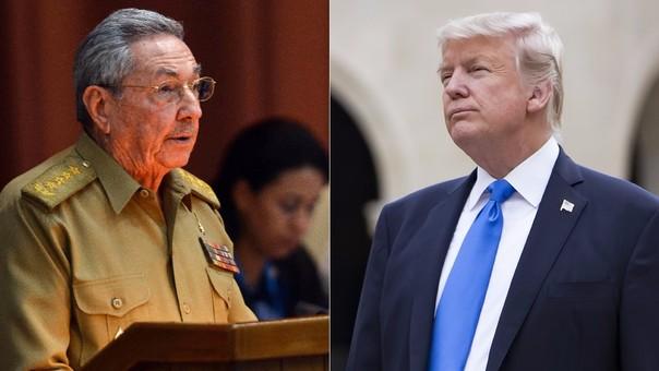 Raúl Castro respondió al gobierno de Donald Trump, que anunció cambios en su relación con Cuba.