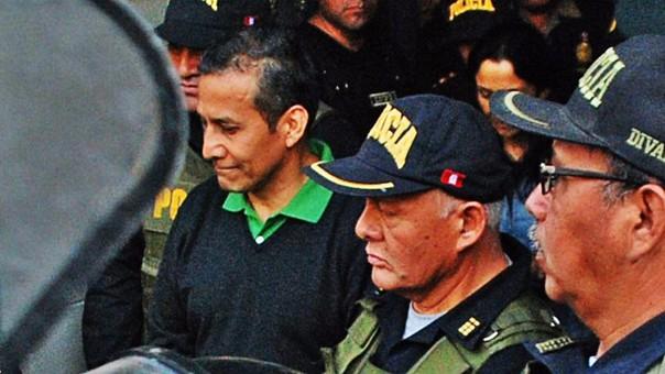 Ollanta Humala está en el mismo penal que Alberto Fujimori.