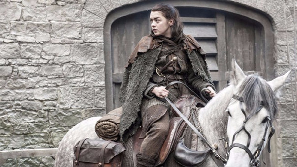 Maisie Williams se despidió de Arya Stark y Game of Thrones