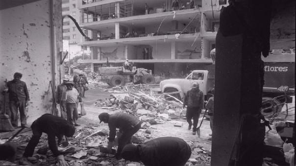 Hace 25 años se produjo el atentado en la calle Tarata, en Miraflores.