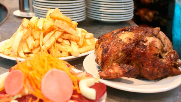 Aproximadamente uno de cada cinco platos de pollo a la brasa viene acompañado de papas importadas.