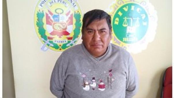 Alfonso Policarpio Choque Quispe estaba con orden de captura vigente.