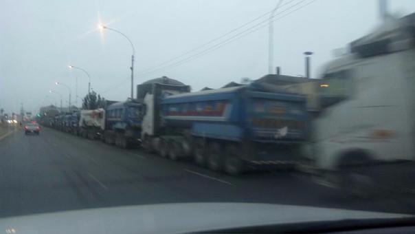 Camiones en Gambetta